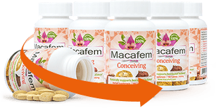 3-month Fertility Starter Pack: 3 bottles of Macafem Conceiving, 100 tablets each. 6-month offer.